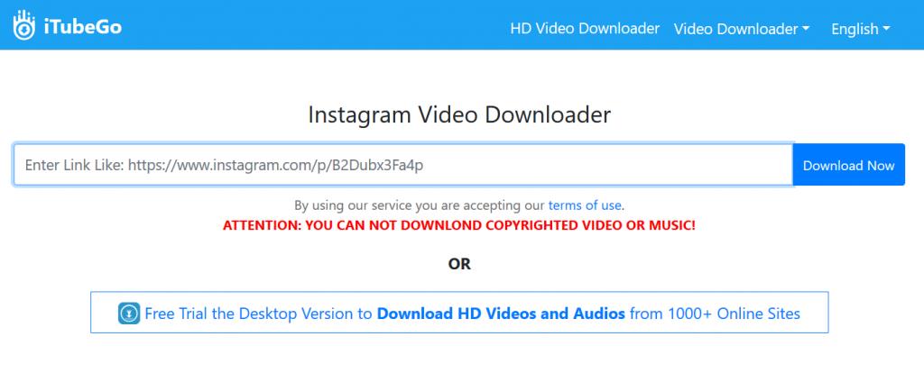 online instagram downloader